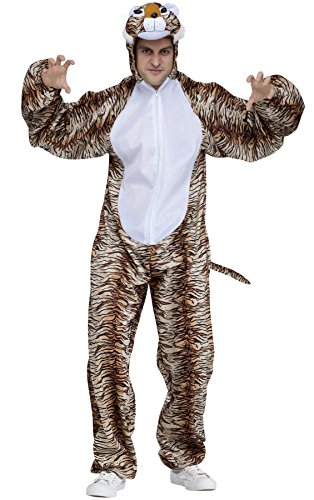 Tiger Animal Adult Halloween Costume