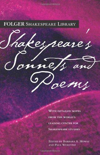 Shakespeare's Sonnets & Poems (Folger Shakespeare...