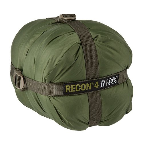 Elite Survival Systems Recon 4 Sleeping Bag, Olive Drab, Rated to 14 Degrees Fahrenheit, RECON4-OD