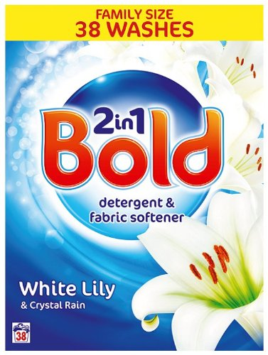 Bold Crystal Rain Laundry Detergent Powder 38 Washes 3.04 kg