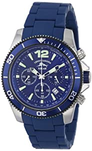 Tommy Bahama RELAX Men's RLX3016 Haverstraw Diving Bezel Chronograph Blue Dial Watch