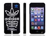 iPhone5/5S ケース 【adidas×JeremyScott】 アディダス×ジェレミースコットコラボケース ブラックスカル