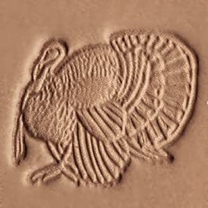 Amazon.com: Springfield Leather Company Turkey 3D Leather Stamp