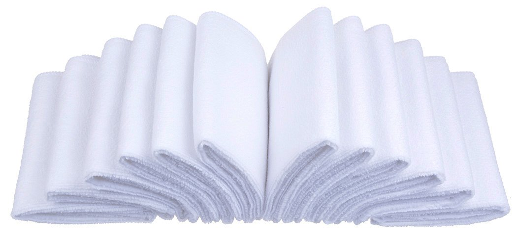 Amazon.com: Sinland Microfiber Cleaning Cloths Washcloth ...