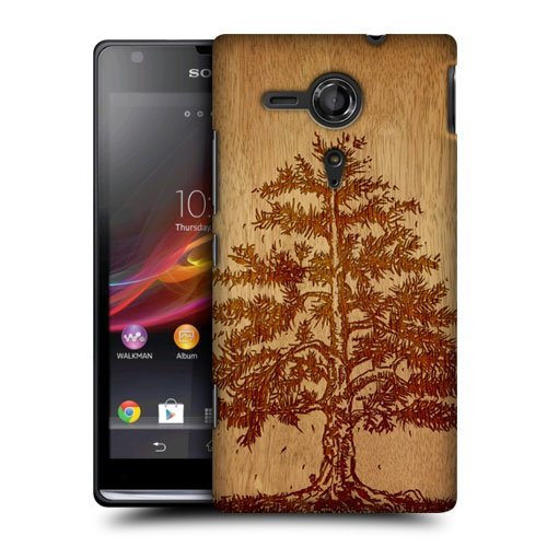 Head Case Designs Tree Wood Art Protective Snap-On Hard Back Case Cover For Sony Xperia Sp C5303