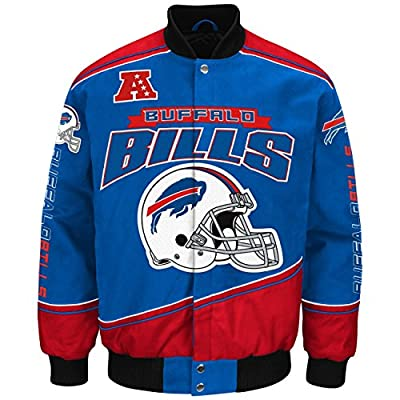 "Buffalo Bills Men's NFL G-III ""Enforcer"" Premium Twill Jacket"