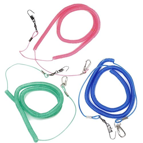 WANGMIN Parrot Bird Flying Training Rope Harness and Leash for Cockatiel (Random Color) (Cockatiel Flight Harness compare prices)