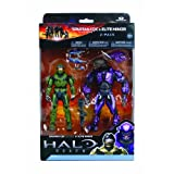 McFarlane Toys Halo Reach Series 2 - Spartan Vs Elite 2 Pack Sage/Sage And Viole