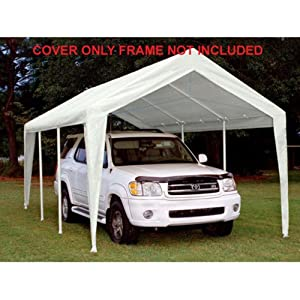 King Canopy King Canopy Titan 10 x 20 ft. Canopy Replacement Cover - White from PIC America Ltd