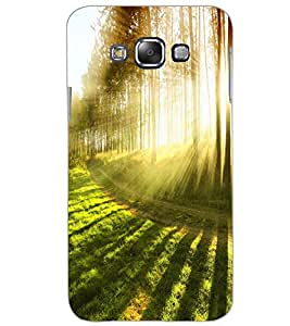 SAMSUNG GALAXY E7 FOREST Back Cover by PRINTSWAG