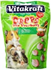 Vitakraft Hamster Strawberry Drops and 5.3-Ounce Pouch