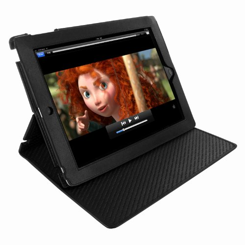 New Piel Frama Cinema Leather Standing Case for the iPad 2 & 3 (Black)