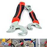 JJOnlineStore - 2Pcs Multi-Function Universal Quick Snap'N Grip Adjustable 9mm to 32mm Wrench Spanner DIY Hand Tool