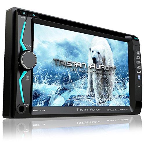 Tristan-Auron-BT2D7011-Autoradio-62-Touchscreen-Bluetooth-Freisprechfunktion-SDUSB-Slot-CDDVD-2-DIN