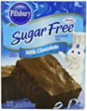 Pillsbury Sugar Free Milk Chocolate Brownie Mix, 12.35 oz., 6 Count