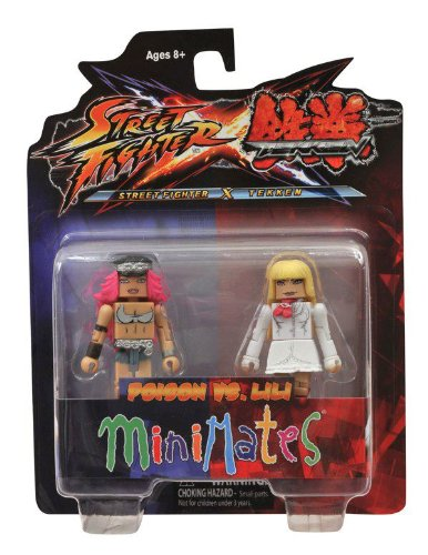 Minimates: Street Fighter X Tekken Series 1 Poison vs Lili - 1