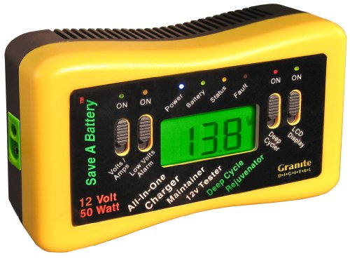 Deep Cell Battery Tester : Save a battery v w pulse charger maintainer