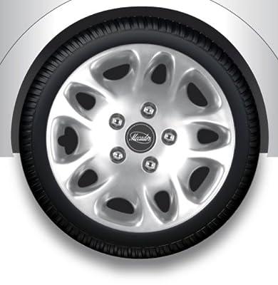 Radkappen/Radzierblenden 17 Zoll MECADOR silver von octimex auf Reifen Onlineshop