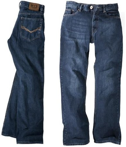 H.I.S. Denim Herren Jeans Hose Modell Randy, 1008, pure blue, HIS-102-10-1008, W40 L38