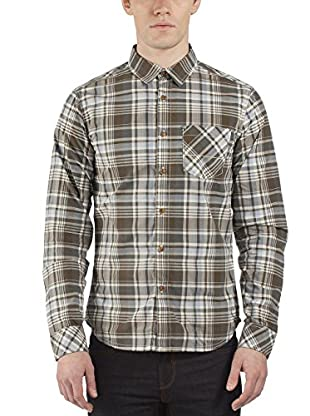 Bench Camisa Hombre (Oliva / Gris)