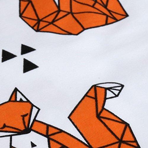 New Toddler Kids Girls Boys Winter Warm Crochet Knit Hat Beanie Cap by FEITONG (Orange)