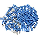 100pcs Male & Female Insulated Wire Bullet Crimp Connector Terminal.