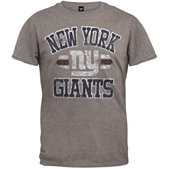 New York Giants - Vintage Logo Soft T-Shirt by NFL