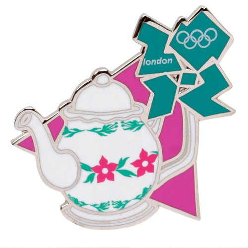 Summer Olympics London 2012 England Olympic Games Tea Pot Pin