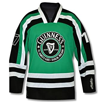 Guinness Green & Black Hockey Jersey by Guinness