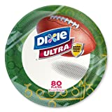 Dixie - Football - Ultra Paper Plate - 10 1/16