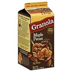 Sweet Home, Granola Maple Pecan, 20.5 OZ (Pack of 8)