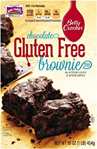 Betty Crocker Gluten Free Brownie Mix, 16-Ounce Boxes (Pack of 6) by Betty Crocker Baking