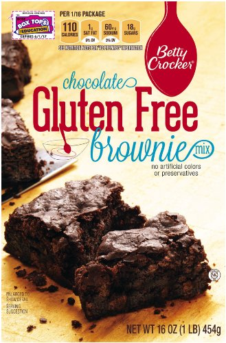 Betty Crocker Gluten Free Brownie Mix, 16-Ounce Boxes (Pack of 6) at Amazon.com