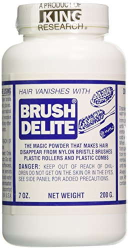 Barbicide BA-90720 Brush Delite Hair Eliminator, 4 Count