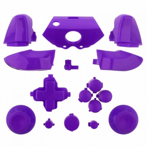 Mod Freakz Xbox One Controller Complete Button Set Solid Purple (Game Gear Repair Kit compare prices)