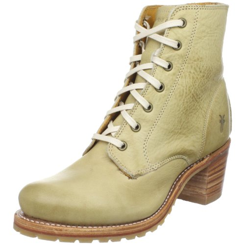 Frye Women's Sabrina 6g Lace Up Clay Ankle Boots 77590 7 UK