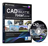 CAD SUITE Total 2D/3D - Professional CAD Software Suite - 4 Advanced Programs (PC & Mac)