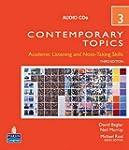 Contemporary topics 3      3/e audio CD