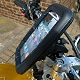 Armor X Waterproof iPhone Motorcycle Handlebar