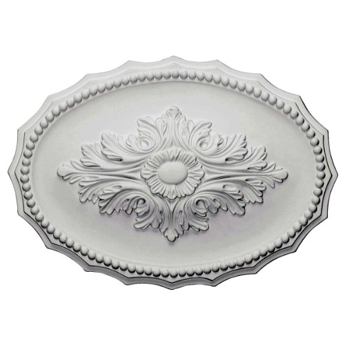 Oxford Ceiling Medallion - 16.875W x 11.75H in.