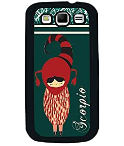 Fuson 2D Printed Sunsign Scorpio Designer back case cover for Samsung Galaxy S3 Neo - D4403