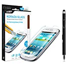 Samsung Galaxy S3 Mini Screen Protector Tempered Glass Sentey® Koraza 9h 0.33mm Ls-11201 Bundle with Free Metal Stylus Touch Screen Pen {Lifetime Warranty}