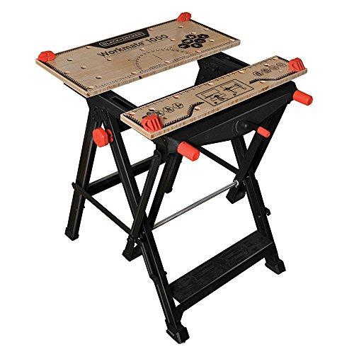 Black & Decker WM1000 Workmate Workbench (Black And Decker Work Table compare prices)