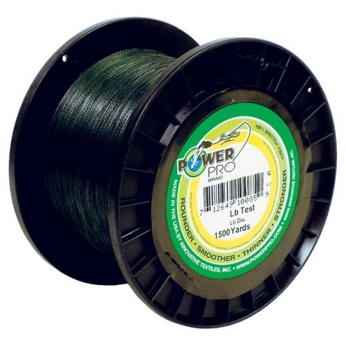 Power Pro 40lb. 3000yds. Moss Green Braided Line by Power Pro