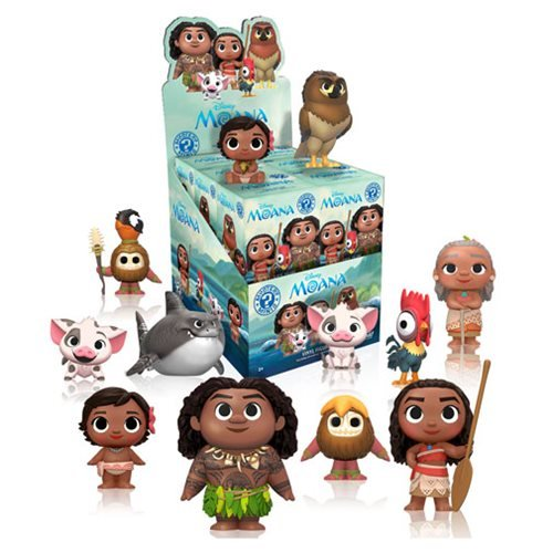 Moana Mini Funko Set of 12