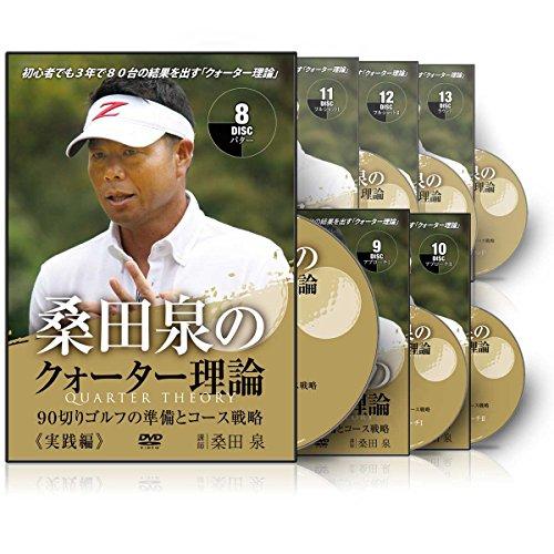 桑田泉のクォーター理論 実践編 ~90切りゴルフの準備とコース戦略~
