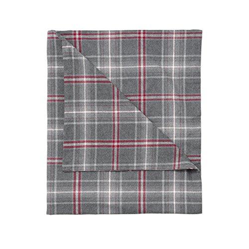 Flannel Plaid Duvet Cover