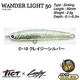 TICT(ティクト) ワンダーライト50 C-10 クレイジーシルバー 50mm