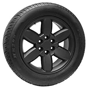 20 inch oem style black chevy wheels rims and tires package for sale automotive. Black Bedroom Furniture Sets. Home Design Ideas