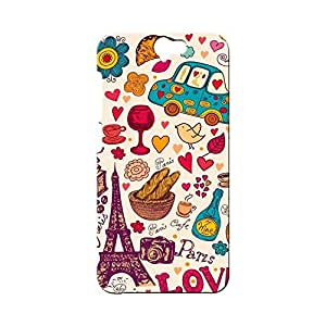BLUEDIO Designer Printed Back case cover for HTC One A9 - G5637